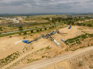 Sand Processing Plant DJI Top View